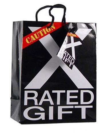 X RATED GIFT BAG