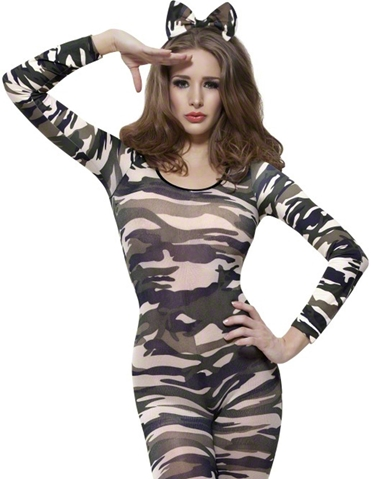 CAMO FEVER BODYSTOCKING