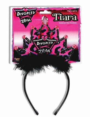 DIVORCE DIVA TIARA