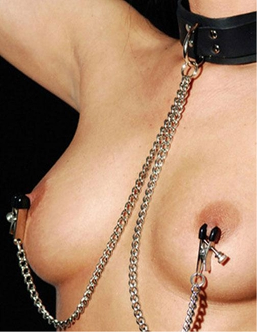 COLLAR WITH NIPPLE CLAMPS