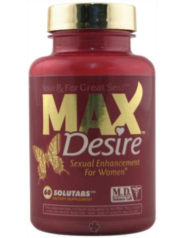 MAX DESIRE PILLS FOR WOMEN 60CT