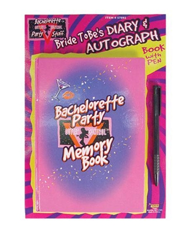 BACHELORETTE MEMORY BOOK