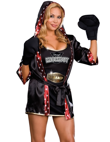 DREAMGIRL KNOCKOUT COSTUME - PLUS