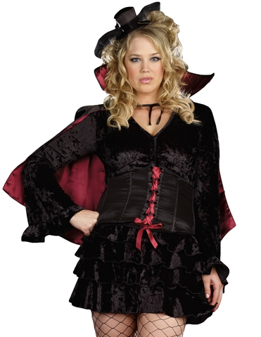BELLA VAMP COSTUME - PLUS