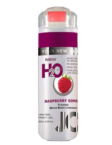 H2O FLAVORED LUBRICANT - RASPBERRY 5.25O