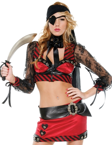 PIRATE OF LOVE COSTUME