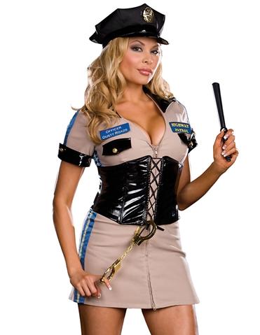 HIGHWAY PATROL OFFICER DUSTY ROADS - PLUS