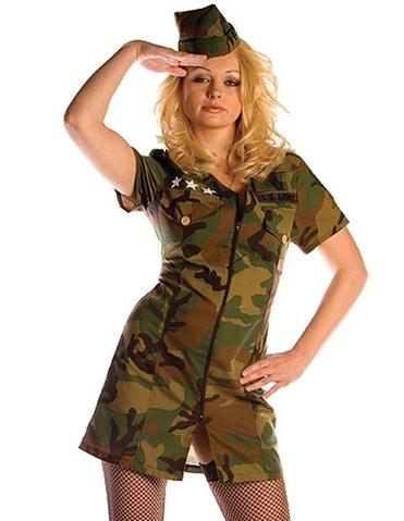 ARMY GIRL COSTUME