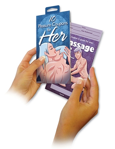 10 PLEASURE HER COUPONS GAME