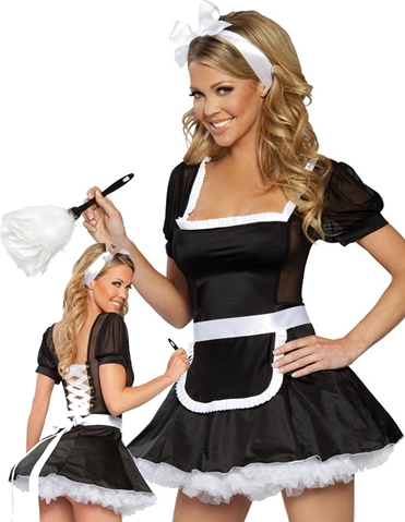 SEDUCTIVE FRENCH MAID