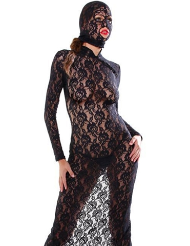 LACE DISGRACE GOWN