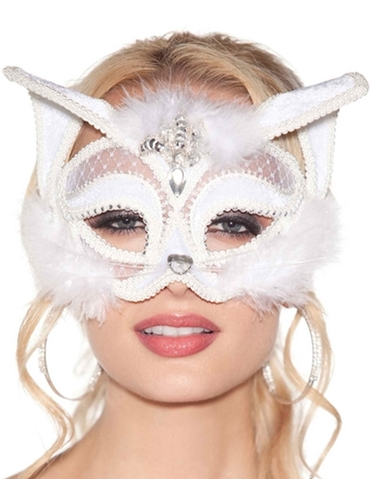 SNOW KITTY MASK