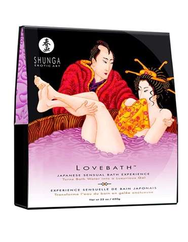 SENSUAL LOTUS LOVEBATH BATH GEL