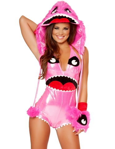 PINKY MONSTER COSTUME