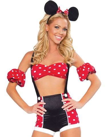 PIN-UP MINNIE MOUSE COSTUME