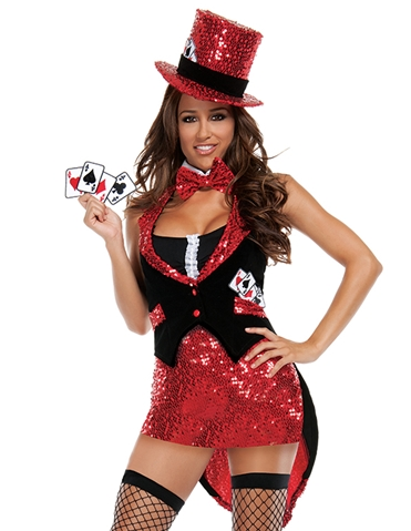 TEXAS HOLD HER COSTUME