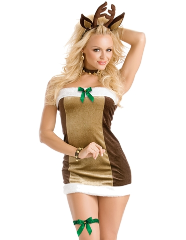 REINDEER GAMES DRESS