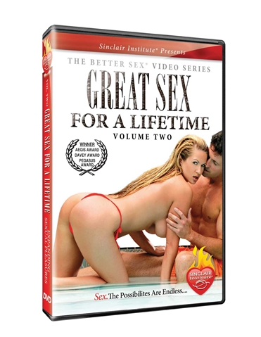VOL 2 GREAT SEX FOR A LIFETIME DVD