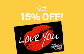 15% off next purchase